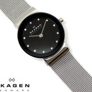 ساعت مچی عقربه ای زنانه اسکاگن مدل ۳۵۸SSSBD