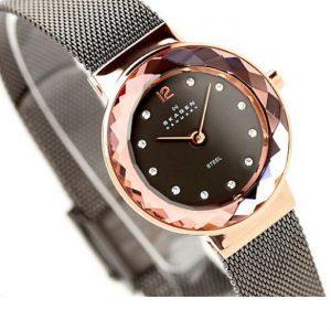 ساعت مچی عقربه ای زنانه اسکاگن مدل ۴۵۶SRM