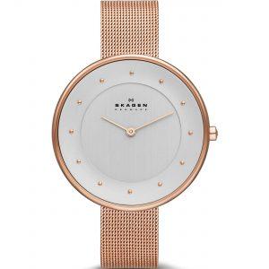 ساعت مچی عقربه ای زنانه اسکاگن مدل SKW2142