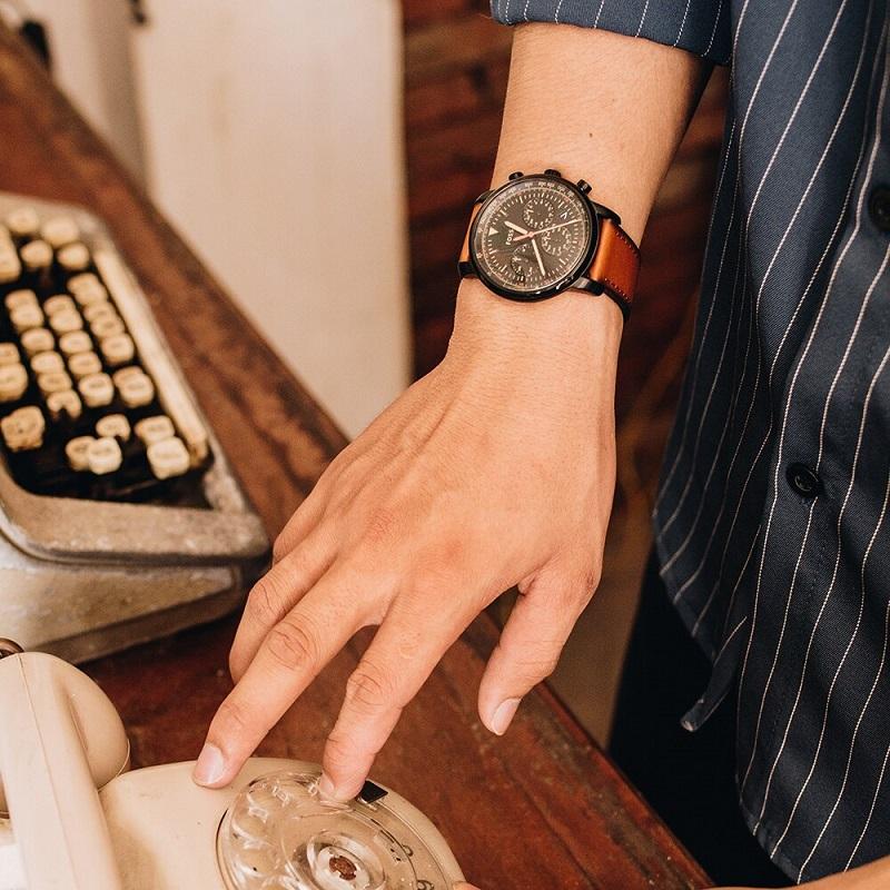 ساعت مچی عقربه ای مردانه فسیل مدل FS5501